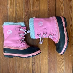 Sorel Pink Women's Winter Boots Size 7